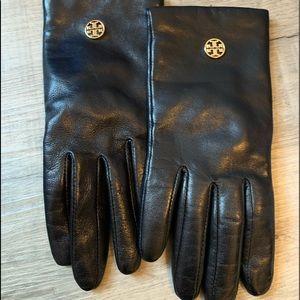 Tori Burch leather gloves